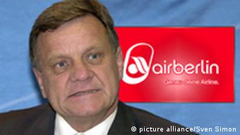 Hartmut Mehdorn, Chef von Air Berlin (Foto: picturealliance)