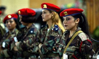 Gadhafi's female bodyguards
