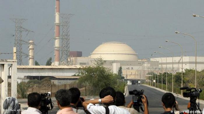 Flash-Galerie Iran Atomkraftwerk Bushehr (picture alliance/dpa)