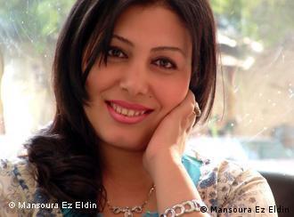 Die ägyptische Schriftstellerin Mansoura Ez Eldin (1976).***Die Schriftstellerin hat mir das Foto per Mail geschickt und der DW erlaubt, es zu benutzen. Samir Grees