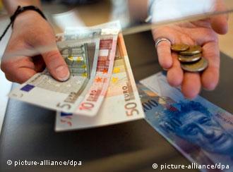 Евро и франки