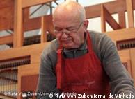 Georg Jann já construiu mais de 200 órgãos