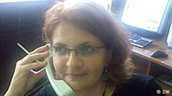 Journalist Mirela Hukovic-Hodzic (Photo: DW/Samir Huseinovic)