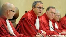 Bundesverfassungsgericht Klage gegen den Rettungsschirm karlsruhe Andreas Voßkuhle