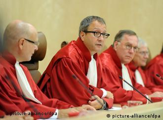 Judges of Germany's constitutional court