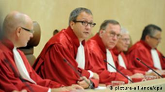 German constitutional court judges