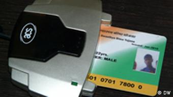 An RSBY smart card and scanner