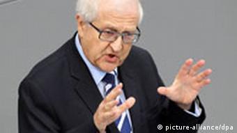 Parliamentary leader of the FDP, Rainer Brüderle