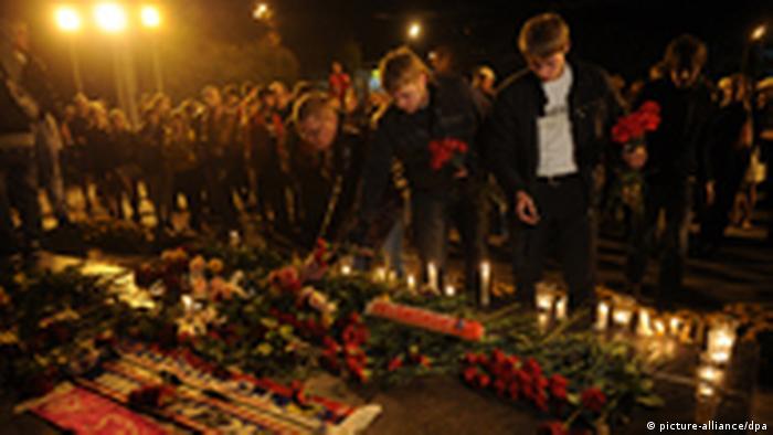Trauer nach Flugzeugabsturz in Russland (picture-alliance/dpa)
