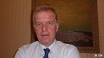 Genc Pollo Albanien Staatsangehörigkeit Mazedonien (DW)