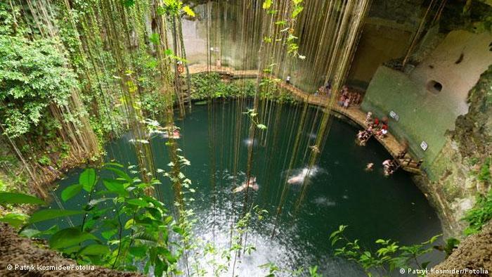 Ik Kil Cenote in Mexico (Patryk Kosmider/Fotolia)