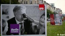Wahlplakat Klaus Wowereit SPD