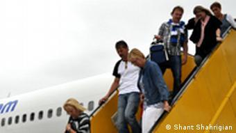 Runway of Maastricht Aachen Airport