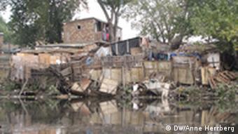 Slums along the Riachuelo