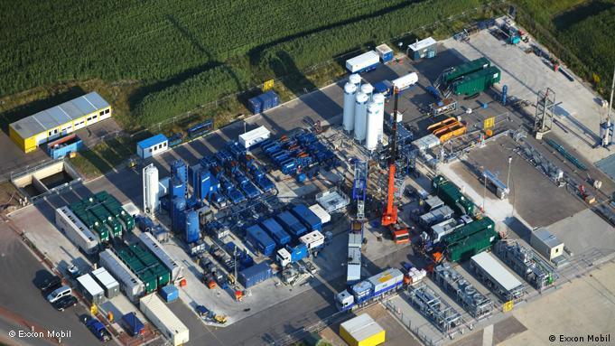 Bušotina Exxon Mobila na kojoj se primjenjuje fracking-tehnologija u Goldenstedtu (Donja Saska)