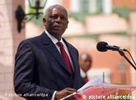 Le président angolais Jose Eduardo dos Santos