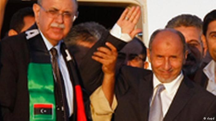 Libyen Übergangsrat Mustafa Abdel Dschalil (dapd)