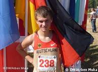 Anton Palzer, atlet gjerman flet për DW