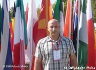 Dejan Angelovski, sekretar i përgjithshëm i Federatës Maqedonase të Atletikës