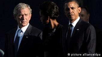 9/11 Gedenken Ground Zero Bush Obama