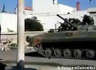 تانکهای ارتش در خیابانهای شهرهای ناآرام