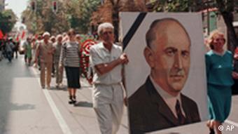 Todor Schiwkow Bestattung