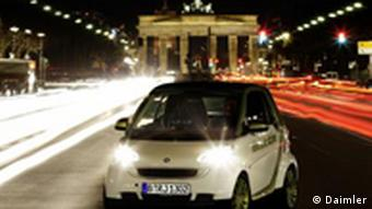 smart fortwo electric drive - e-mobility Berlin