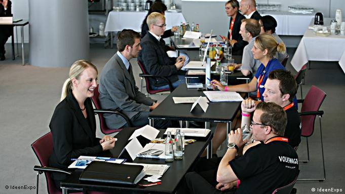 IdeenExpo Job-Speed-Dating Flash-Galerie