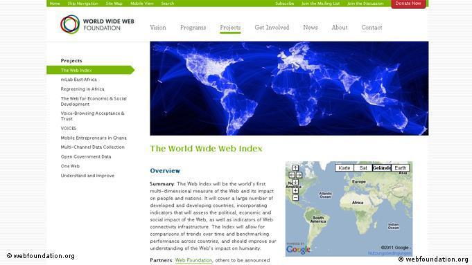 صفحه رسمی پروژه وبایندکس