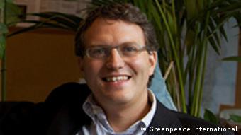 Daniel Mittler, Political Director of Greenpeace International