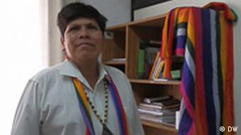 Pepe Acacho, Shuar indigenous leader and Vice President of CONAIE, Confederation of Indigenous Nationalities in Ecuador