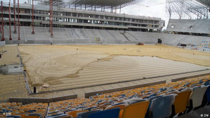 Строящийся львовский стадион