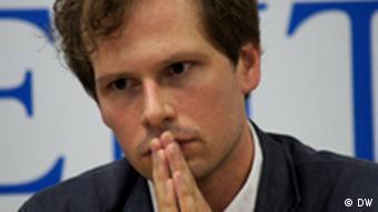 Йоханн Бир из Репортеров без границ
