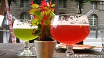 A glass of Berliner Weisse