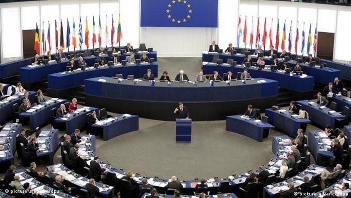 Flash-Galerie Jose Manuel Durau Barroso spricht vor dem Europäischen Parlament (picture alliance/dpa)