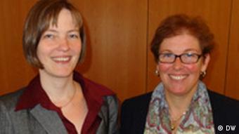 Susanne Kröhnert-Othmann und Susanne Kamp (Foto: DW)