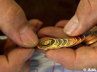 Bild 20 Titel: Gold Die iranische Nationalbank kontrolliert die Preise für Gold.  Schlagwörter: weekly Gallery, Iran, Gold Copyright: ©IRNA   Rechteeinräumung: Iranische Webseite, Bilder können zur Presseberichterstattung benutzt werden