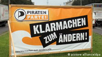 Pirate Party campaign poster