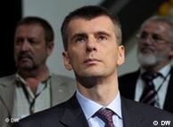 Portrait von Michail Prochorow (Foto: DW)