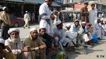 Arbeitslose (Foto: Faridullah Zaher)