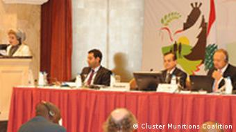 Parties convening in Beirut t discuss the ratification process of the cluster bomb convention