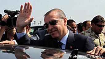 Libyen Türkei Ministerpräsident Recep Tayyip Erdogan in Tripolis