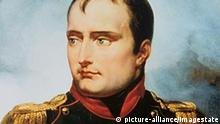 'The Emperor Napoleon I', 1815. The emperor Napoleon Bonaparte is depicted wearing the cross and plaque of the Legion d'Honneur and the cross of the Order of the Iron Crown, both of which orders he founded. Keine Weitergabe an Drittverwerter.