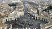 Der St. Petersplatz in Rom