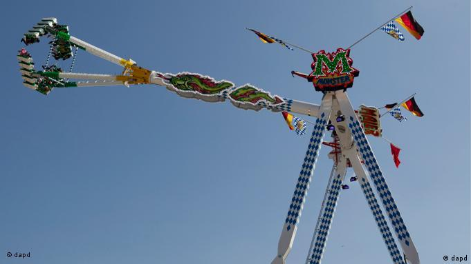 The 'Monster' ride at Oktoberfest 2011
