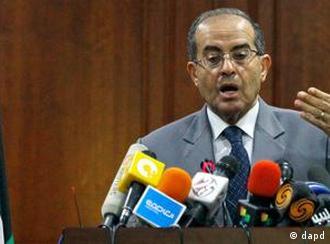 محمود جبرئیل، رهبر اتحاد نیروهای ملی - لیبرال