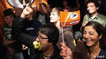 Pirate Party supporters in Berlin