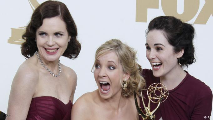Downton Abbey Darsteller Emmy 2011 Flash-Galerie (AP)