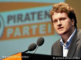 Sebastian Nerz, unul din liderii Partidului Piraţilor