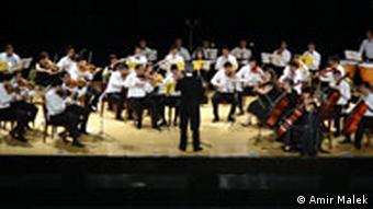 Szene vom Konzert des National Youth Orchestra Iraq in Arbil